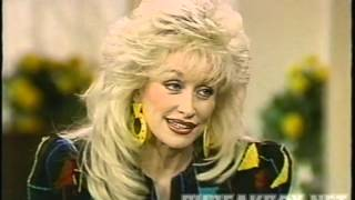 Dolly Parton Kathy Lee Regis 1992 Straight Talk Interview