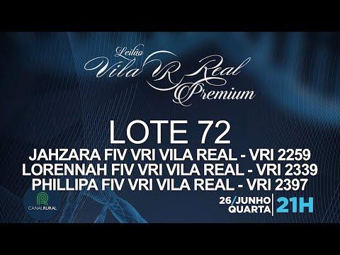 LOTE 72 (VRI 2259/VRI 2339/VRI 2397)