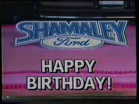 Shamaley Ford El Paso >> 1987 Shamaley Ford El Paso Birthday Sale Tv Commercial