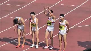 H29 千葉県高校総体 男子4x400mR 決勝