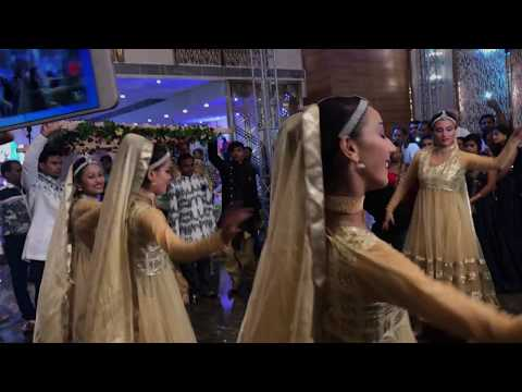 ASHIKA WEDDING PADMAVATI GHOOMAR BRIDE &GROOM ENTRY THEME CONCEPT NEW DELHI