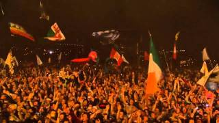 "♥ ♫ ♪ The Verve:  Bitter Sweet Symphony ""live"", Glastonbury 2008 HD ♥ ♫ ♪ AWESOME"