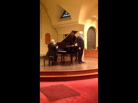 ASPS PRESENTS: Robert Brandt, Baritone & Thomas Grubb, Piano Ravel & Debussy