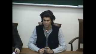видео: Николай Цискаридзе в МГИМО