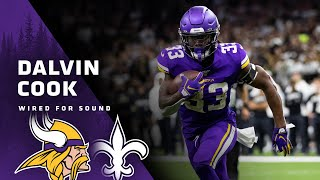 Dalvin Cook Mic'd Up vs. Saints (Wild Card Round) | Wired for Sound