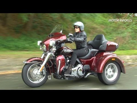 essai harley-davidson tri glide - youtube