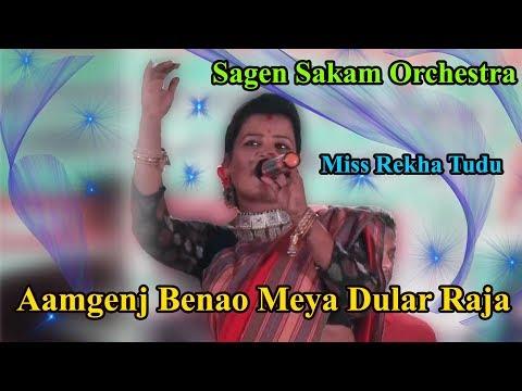 Aamgenj Benao Meya Dular Raja II Miss Rekha Tudu II Sagen Sakam Orchestra