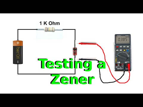 How To Test The Voltage Of A Zener Diode