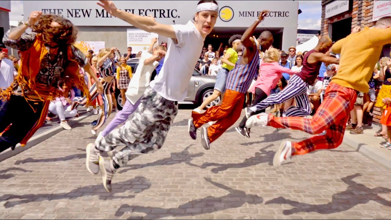 Epic Dancing Through Time Flash Mob Best Of British Youtube