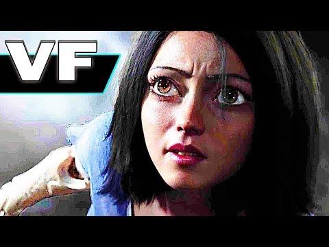 ALITA BATTLE ANGEL Bande Annonce VF (Film de Science-Fiction 2018)