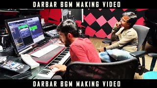 Darbar BGM (Background Score) Making Video | Rajinikanth | AR Murugadoss | Anirudh | Theme Music