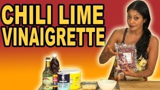 Chili Lime Vinaigrette Recipe - Bootleg Tip