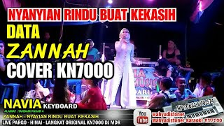Zannah - Nyanyian Rindu Buat Kekasih - Data Cover KN7000 Navia Keyboard