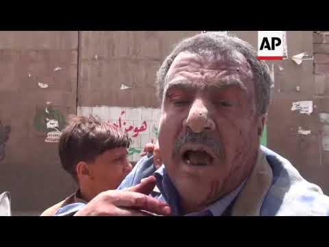 Yemen rebel TV says 6 killed in Sanaa airstrike