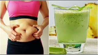 Pineapple and Celery Smoothie for Weight Loss and Eliminating Toxins | Weight loss tips