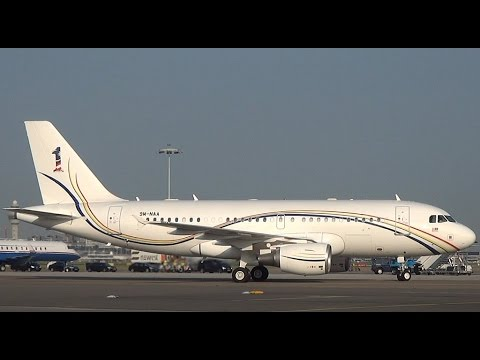 Malaysian Government Airbus A319CJ arrives at Schiphol (DutchPlaneSpotter)