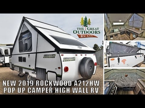 Rockwood A212HW Pop Up Campers | The Great Outdoors RV