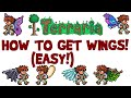 Terraria: HOW TO GET WINGS GUIDE! Buy or make EASY! PC 1.3 AND Android/iOS/Xbox 360!