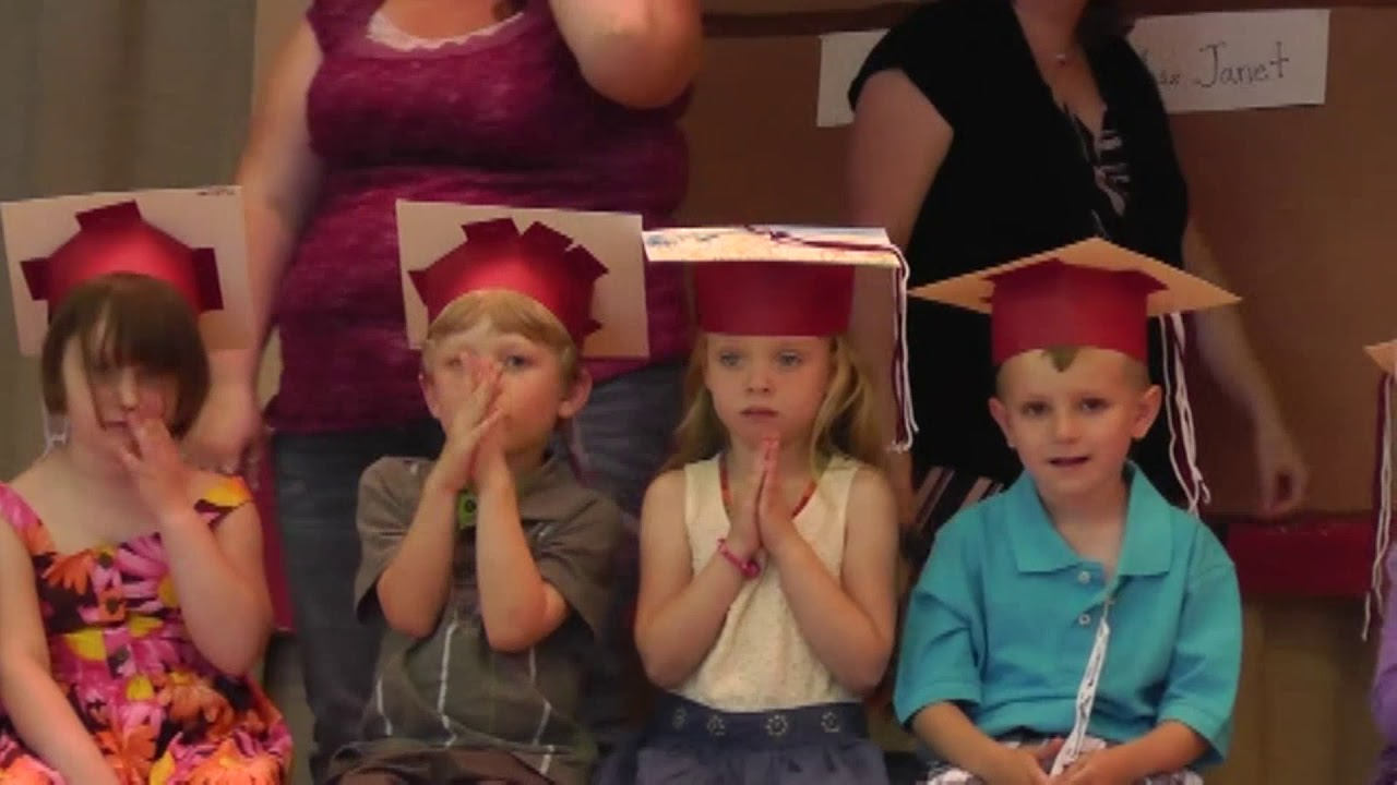 CCLC Pre K Graduation part one  6-20-13