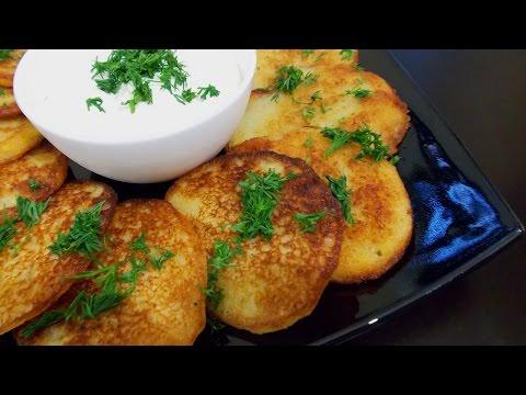простые вкусные деруны (драники)