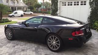 2006 Aston Martin Vanquish S Review and Test Drive by Bill - Auto Europa Naples