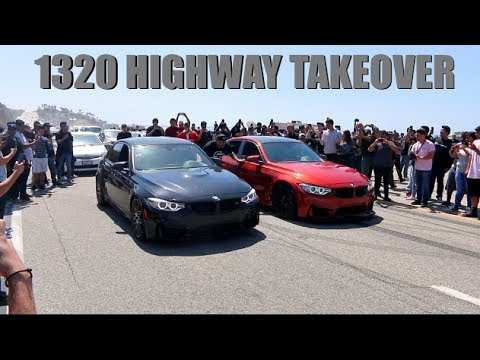Street Racers SHUT DOWN California Highway!