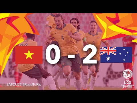 VIETNAM vs AUSTRALIA: AFC U23 Championship 2016 (Group Stage)