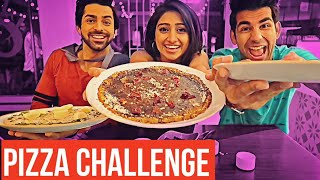 Pizza Challenge | Rimorav Vlogs