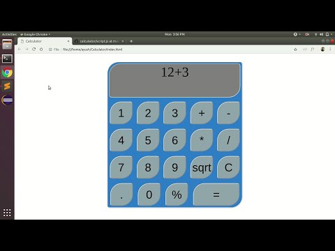 How To Create A JavaScript Calculator | HTML, CSS, JavaScript