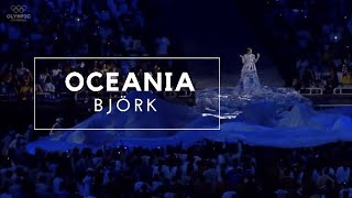 Björk - Oceania | Athens 2004 Olympics Opening Ceremony