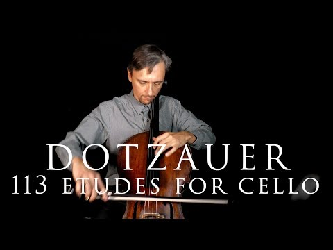 Dotzauer, Exercises for Cello, Book 1, No.4 in Fast and Slow tempo