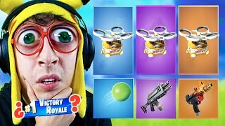 RANDOM 'DRONE' Skin CHALLENGE DUO in Fortnite Battle Royale! (Reto dron aleatorio)