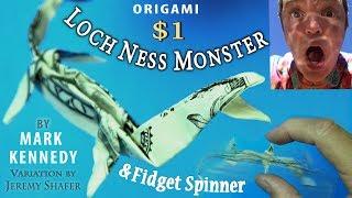 Origami Loch Ness Monster AND Oscillation Fidget Spinner