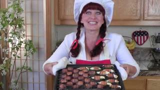 #17 Bbq, Dates, Bacon, Veggies Appetizers.studioolga. La Na  Fun Cooking.