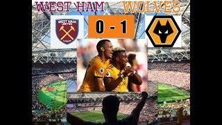 West Ham United 0 - 1Wolverhampton Wanderers| My Match Highlights| (01/09/18)|