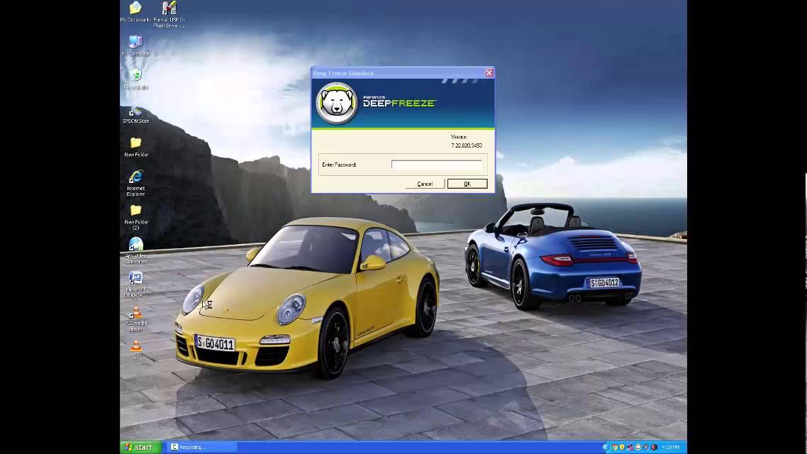 Deep freeze for windows 7