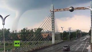 Un fuerte tornado arrasa el noreste de China causando muerte y destrucción