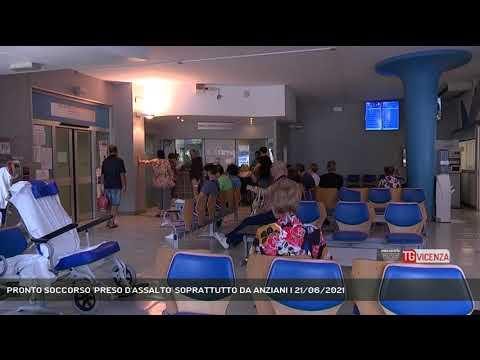 PRONTO SOCCORSO 'PRESO D'ASSALTO' SOPRATTUTTO DA ANZIANI   21/06/2021