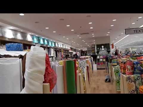 KCC mall de zamboanga textile area