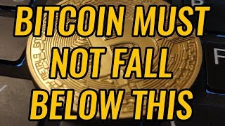 Bitcoin Must Not Fall Below This Level! Critical Support For Crypto Markets! BTC, ETH, & LTC News!