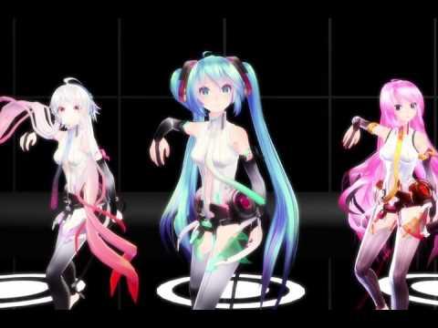 【MMD】 ECHO (feat. Gumi English) - Crusher-P