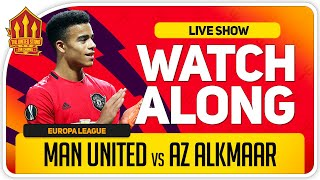 MANCHESTER UNITED vs AZ ALKMAAR | With Mark Goldbridge LIVE