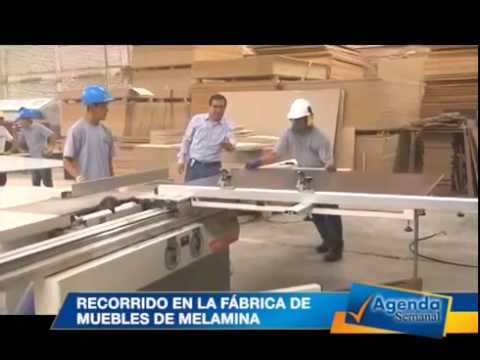 Recorrido en la f brica de muebles de melamina youtube for Fabricas de muebles en portugal