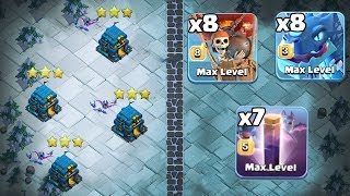 8 Electro Dragon + 8 Max Balloon + 7 Max Bat Spell :: TH12 ATTACK STRATEGY 2019 | Clash Of Clans