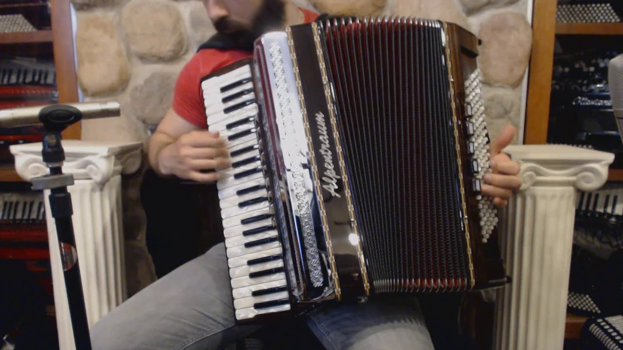 ALPE4120CMHEB - Black Forest Alpentraum 4120 Helikon Chambered Piano  Accordion LMMM 42 120 $8999