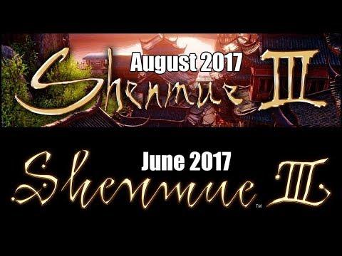 Shenmue 3 Logo Question | Facebook & Twitter Feedback