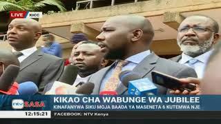 Murkomen: Why President Uhuru skipped KICC meeting to remove Irungu Kang'ata