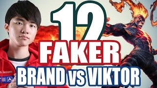 FAKER bất tử rank Hàn với BRAND #12