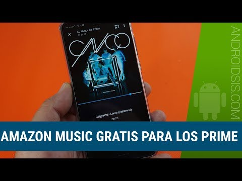 Amazon Music gratis para los PRIME