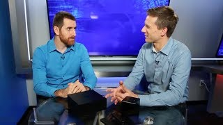Rich DeMuro from KTLA 5 Morning News and Elias Saba from AFTVnews discuss the Amazon Fire TV Recast